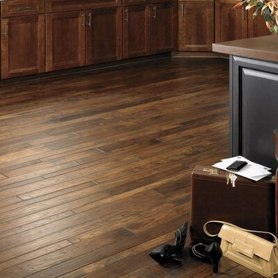 "Appalachian Flooring Colonial Manor 4"" Solid Hickory Flooring in Hobnail"