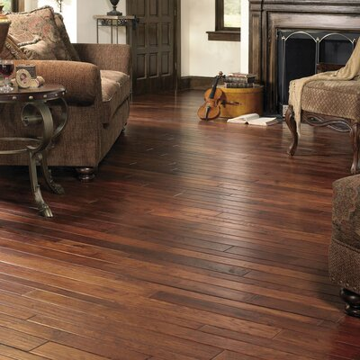 """Appalachian Flooring Colonial Manor 4"""" Solid Hickory Flooring in Smokehouse"""