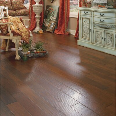 Appalachian Flooring SAMPLE - Casitablanca Handcrafted Engineered Kupay in Lava