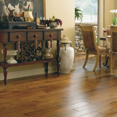 "Appalachian Flooring Casitablanca Handcrafted 5"" Engineered Kupay Flooring in Panera"