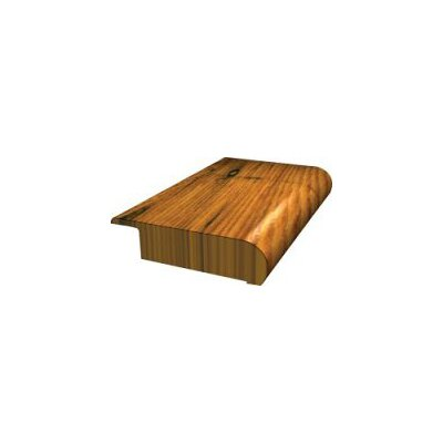 "LM Flooring Heritage 78"" Stair Nose Hickory in Fireside Hand Scraped"