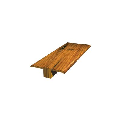 LM Flooring Brazilian Cherry T-Molding in Natural Hand Scraped