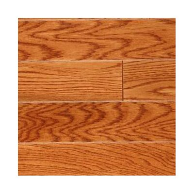 "LM Flooring Gevaldo 3"" Engineered White Oak Flooring in Gunstock"