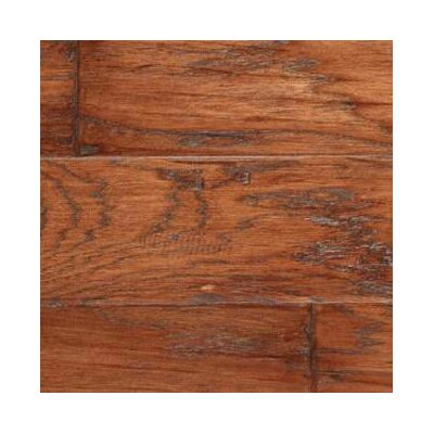 LM Flooring SAMPLE - Gevaldo Engineered Hickory in Tobacco Hand Scraped