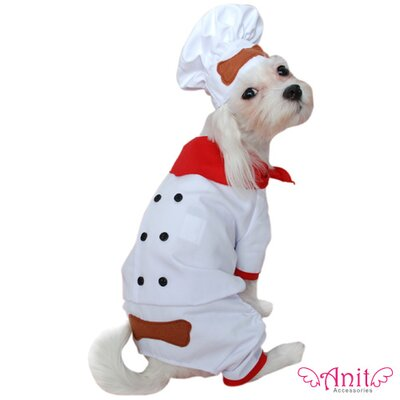 Anit Accessories Chef Dog Costume