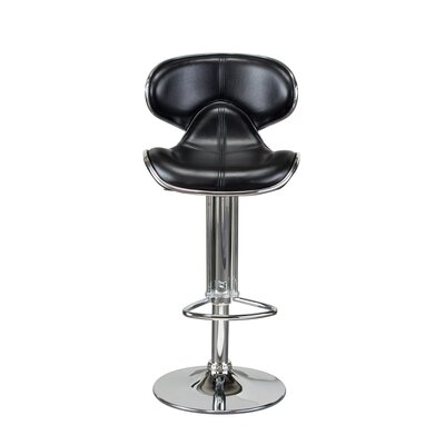 Diamond Sofa Contemporary Adjustable Height Barstool