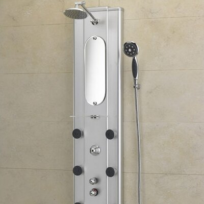 Jacuzzi® Ristorre Metallo® Thermostatic Shower Panel