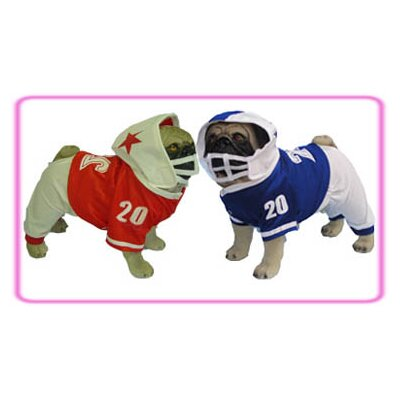 Puppe Love Football Dog Costume