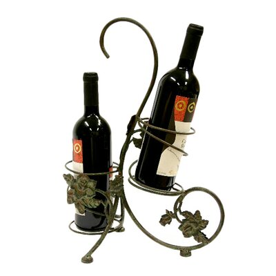 <strong>Creative Creations</strong> Xiafeng 2 Bottle Tabletop Wine Rack