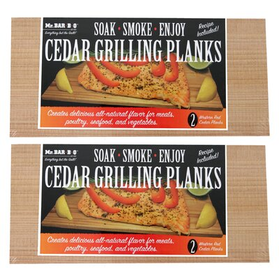 Cedar Grilling Planks (Set of 2)