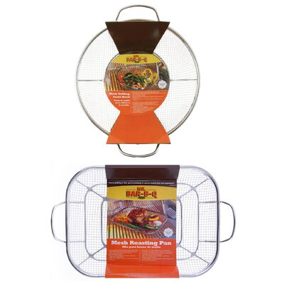 Mr. Bar-B-Q Commercial Grade Mesh Roasting and Grilling Set