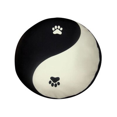 Dogzzzz Round Yin Yang Dog Pillow