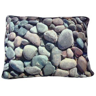 Dogzzzz Rectangle River Rock Dog Pillow