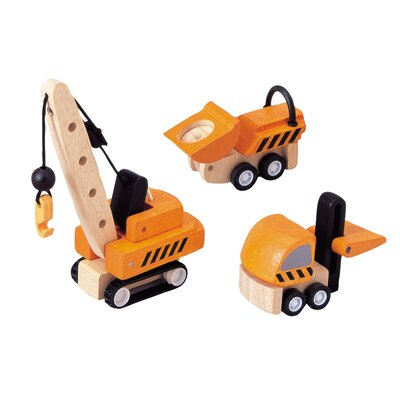 Plan Toys City Construction Vehicle Set