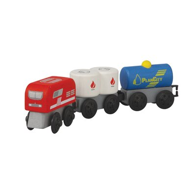 Plan Toys City Fuel Train
