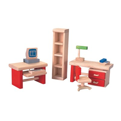 Plan Toys Dollhouse Home Office-Neo