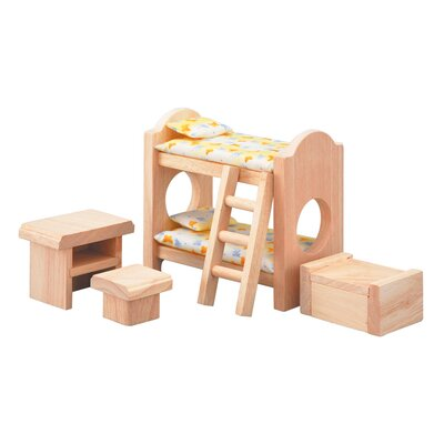 Plan Toys Dollhouse Children's Room - Classic