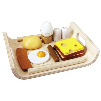 Plan Toys Large Scale Breakfast Menu Set