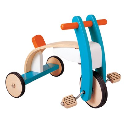 Plan Toys Large Scale Wooden Tricycle