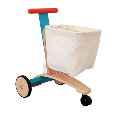 Plan Toys Large Scale Shopping Cart