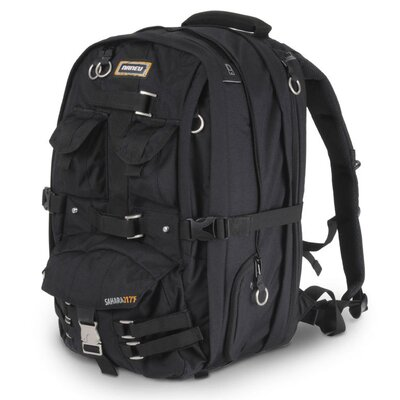 Sahara Expandable Backpack in Black