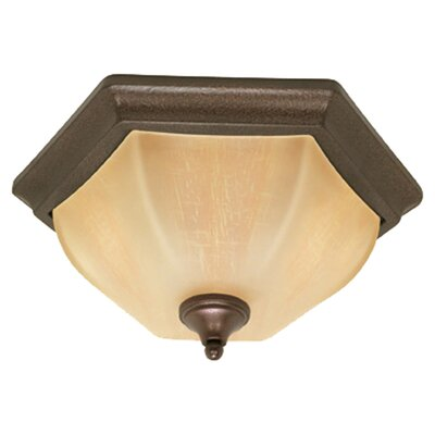 <strong>Nuvo Lighting</strong> Normandy Flush Mount