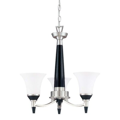 Nuvo Lighting Keen 3 Light Chandelier