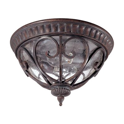Nuvo Lighting Corniche 2 Light Flush Mount