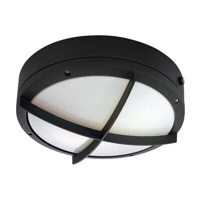Nuvo Lighting Hudson 2 Light Wall Sconce with Cross Grill