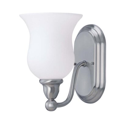 Nuvo Lighting Logan 1 Light Wall Sconce