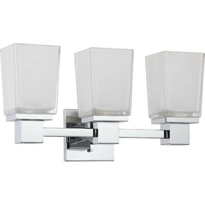 Nuvo Lighting Ashton 3 Light Bath Vanity Light & Reviews Wayfair