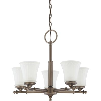 Nuvo Lighting Teller 5 Light Chandelier
