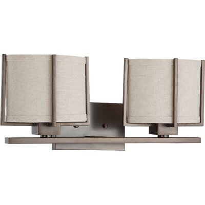 Nuvo Lighting Portia 2 Light Bath Vanity Light