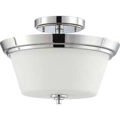 Nuvo Lighting Bento 2 Light Semi Flush Mount