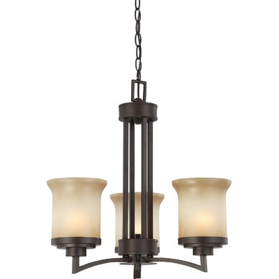 Nuvo Lighting Harmony 3 Light Mini Chandelier