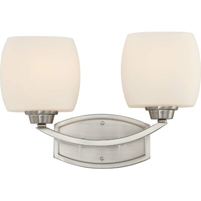 Nuvo Lighting Helium 2 Light Bath Vanity Light