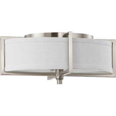 Nuvo Lighting Portia 2 Light Flush Mount - Energy Star