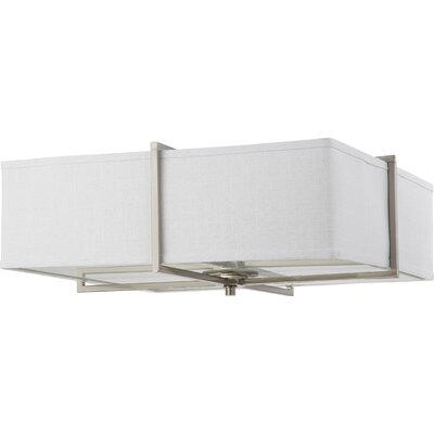Nuvo Lighting Logan 4 Light Flush Mount - Energy Star