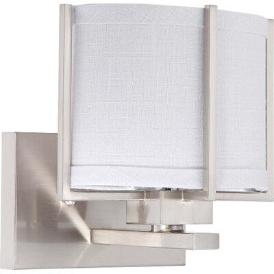 Nuvo Lighting Portia 1 Light Bath Vanity Light