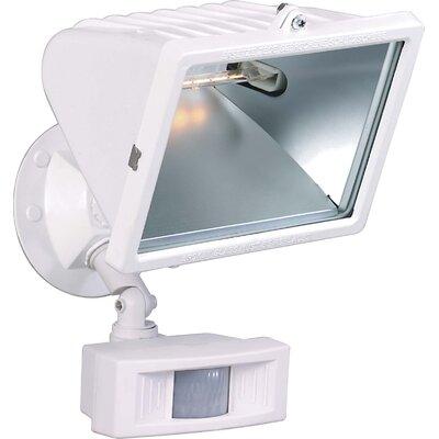 "Nuvo Lighting 1 Light - 12"" - Flood Light, Exterior - Large Halogen w/Motion Sensor"