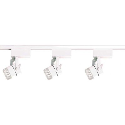 Nuvo Lighting 3 Light Low Voltage Square Track Light Kit
