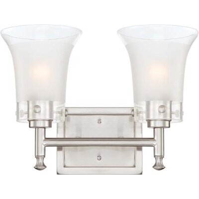 Nuvo Lighting Patrone 2 Light Bath Vanity Light