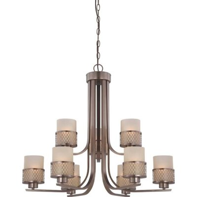 Fusion 9 Light Chandelier