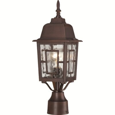 Nuvo Lighting Banyon 1 Light Outdoor Post Lantern