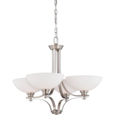 Nuvo Lighting Bentley 4 Light Chandelier