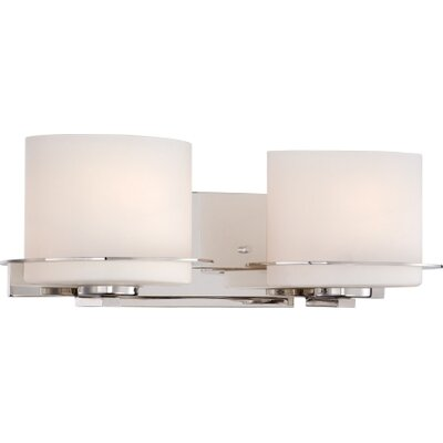 Nuvo Lighting Loren 2 Light Bath Vanity Light