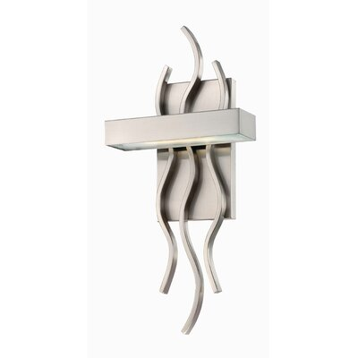 Nuvo Lighting Wave 1 Light Wall Sconce