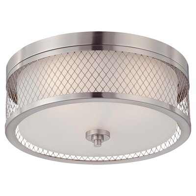 Nuvo Lighting Fusion 3 Light Flush Mount