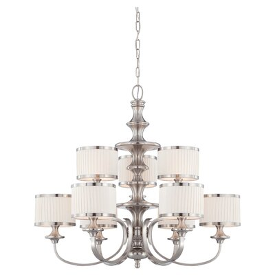 Nuvo Lighting Candice 9 Light Chandelier