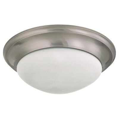 <strong>Nuvo Lighting</strong> Transitional Flush Mount